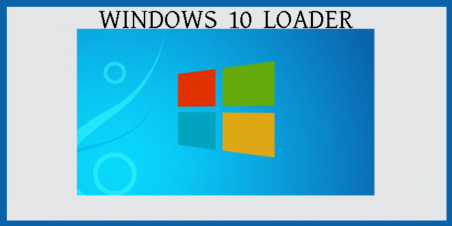 Windows 10 Loader crack